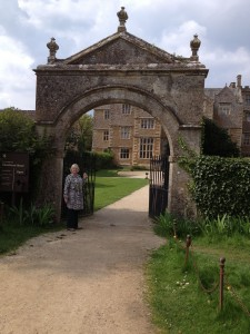 Visiting Chastleton House with Ellen